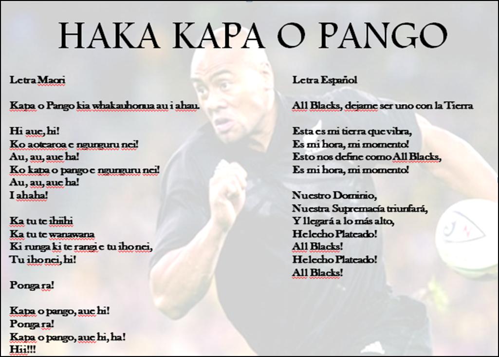 Kapa O Pango - Haka - New Zealand All Blacks, August 6 ...